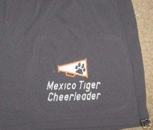 Personalized Cheer Cheerleader Cheerleading Shorts A/M