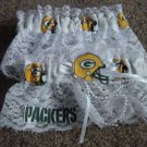 Football Green Bay Packers Wedding Bridal Garter Set