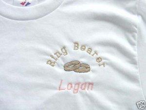 Personalized Rehearsal boys Toddler Ring Bearer T-shirt