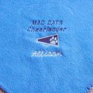 Personalized Cheerleading Cheerleader Fleece Blanket