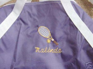 Personalized Tennis Duffle Team Sports Bag
