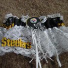 Football Steelers Wedding Bridal Prom Garter EX Large