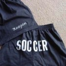 Personalized Girls Soccer  Butt Print Shorts Y/L