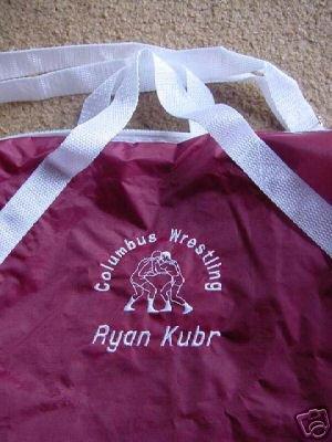 Personalized Wrestling Wrestler Team Sports Duffle Bag