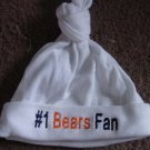 Chicago Bears Football Baby Infant Newborn Knotted Hat