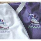 Personalized Ice Skating Skate Duffle Bag Shirt Set