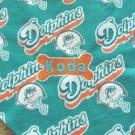 PERSONALIZED Miami Dolphins DOG/CAT Pet BANDANA Scarf