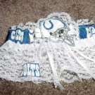 Indianapolis Colts Football NFL Bridal Wedding Garter Lace trim