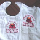 Personalized Baby's 1st First Birthday Bib/Shirt Elmo