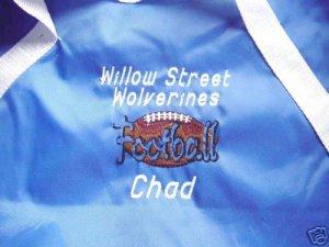 Personalized Football Peewee Team Duffle  Bag
