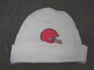 Personalized Cleveland Browns Football Baby Infant Newborn Hospital Hat Cap