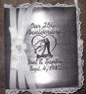 Personalized 25th 50th  Wedding Anniversary Photo Album