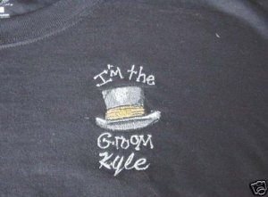 I'm the Groom shirt Bridal Wedding Shower Honeymoon