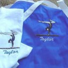 Personalized Girls Gymnastics Gymnast Duffle Shirt Set