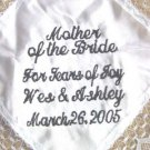 GIFT MOTHER BRIDE OF BRIDE WEDDING LACE HANKIE BRIDAL