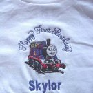 Personalized Thomas Tank Engine First Birthday Shirt