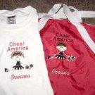Personalized Cheerleader Cheer Duffle Bag Shirt Set