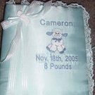 Personalized Baby Infant Newborn Photo Album Book