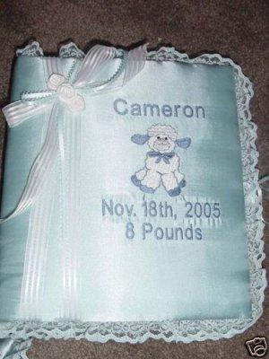 Personalized Baby Infant Newborn Photo Album Book