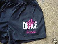 Personalized Dance Dancer Ballet Ballerina Shorts A/L