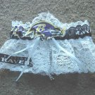 Baltimore Ravens NFL Football Sports Bridal Wedding Garter Prom Keepsake