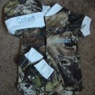 Mossy Oak Camo Camouflage 3PC Baby Infant Newborn Set Personalized Boy