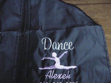 Personalized Dance Dancer Ballerina Ballet Competition Costumes Garment Bag