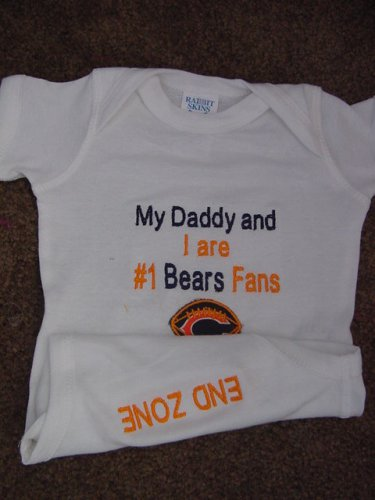 Chicago Bears Football Baby Infant Newborn Onesie Creeper