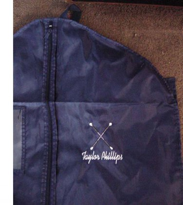 Personalized BATON Twirling Twirler Costume Garment Bag