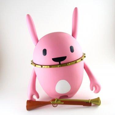 7.5 inch Nedzed pink rabbit included mini figure