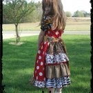 Wild Miss Mouse Minni, Animal Print Dress