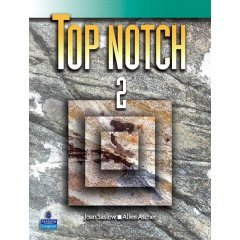 TOP NOTCH 2 & TOP NOTCH 2 WKB / SASLOW / 2006 / isbn 0132230445