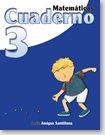 Matematicas 3 Cuaderno    /  ISBN: 9-58240-923-1 / Ediciones Santillana