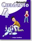 Matematicas 4 Cuaderno    / ISBN: 9-58240-957-6 / Ediciones Santillana