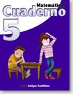 Matematicas 5 Cuaderno   / ISBN: 9-58240-948-7 /Ediciones Santillana