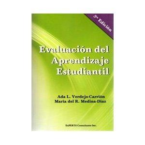 Evaluacion del Aprendizaje Estudiantil 5e / Verdejo / Medina / isbn 098231910X