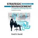 Strategic Management: A Competitive Advantage Approach, Concepts and Cases (14th) isbn  0132664232
