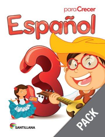 Espanol 3 ( Pack) Serie Para Crecer     (isbn: 9781618754578) (Ediciones Santillana)