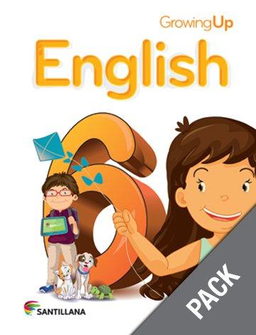 English 6 ( Pack) Growing Up (serie: Para Crecer) (isbn: 9781618754677) (Ediciones Santillana)