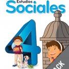 Sociales 4 ( Pack) Serie Para Crecer (isbn:9781618754844) (Ediciones Santillana)