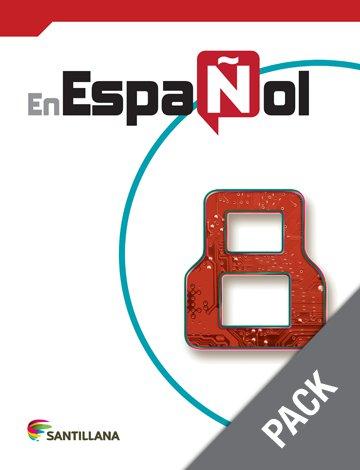 En Espanol 8 ( Pack) Libro y Cuaderno  (isbn: 9781618755070 ) (Ediciones Santillana)