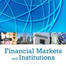 Financial Markets and Institutions (8th Edition) Frederic S Mishkin ( isbn 013342362X )