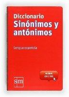 Diccionario Sinonimos y Antonimos - Grande / isbn 9788467541403 / Ediciones SM