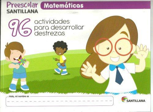 Matematicas Pre-escolar - isbn 9781618755827 - Ediciones Santillana