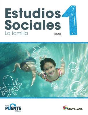 Sociales 1 - Texto - Serie Puente del Saber - isbn 9781618756077 - Ediciones Santillana