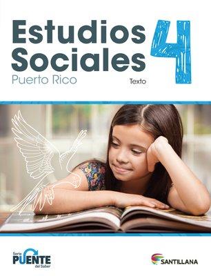 Sociales 4 - Texto - Serie Puente del Saber - isbn 9781618756107 - Ediciones Santillana