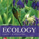 Ecology: Concepts and Applications (Paperback) 7th by Manuel C. Molles Jr. - isbn 9780077837280
