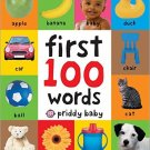 First 100 Words (board book) by Roger Priddy - isbn 9780312510787