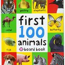 First 100 Animals Words (board book) by Roger Priddy - isbn 9780312510794