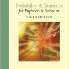 Probability and Statistics for Engineers and Scientists (9th Edition) - Walpole - isbn 9780321629111